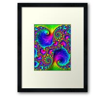 Tropical Vibrations Framed Print