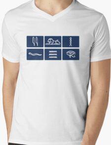 Only Connect Mens V-Neck T-Shirt