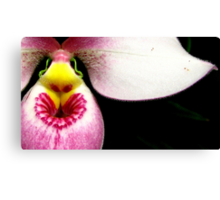 Lipstick Love - Orchid Alien Discovery Canvas Print