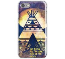 My Room On The Dark Side Of The Moon iPhone Case/Skin