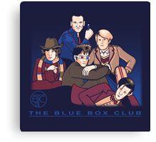 The Blue Box Club Canvas Print