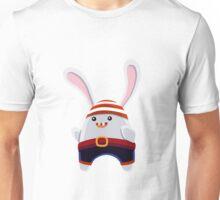 Cartoon Pirate Bunny Kid Unisex T-Shirt