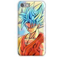 Super Saiyan Blue Goku iPhone Case/Skin