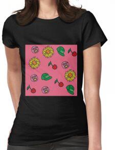 Tyler the Creator Cherry Bomb Art Womens Fitted T-Shirt