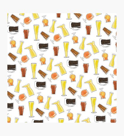 Beer Styles Photographic Print