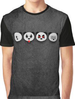 Panda Kiss Graphic T-Shirt