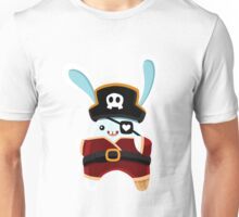 Cartoon Pirate Bunny Unisex T-Shirt