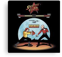 Starfleet Fighter Canvas Print