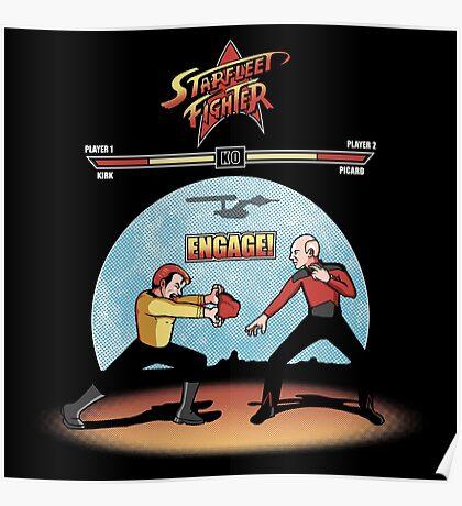 Starfleet Fighter Poster
