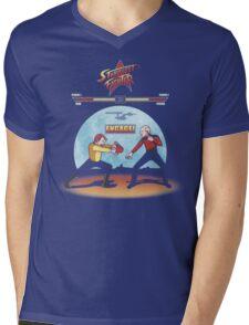 Starfleet Fighter Mens V-Neck T-Shirt