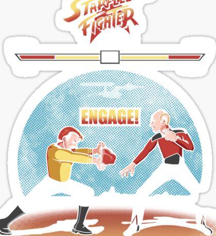 Starfleet Fighter Sticker