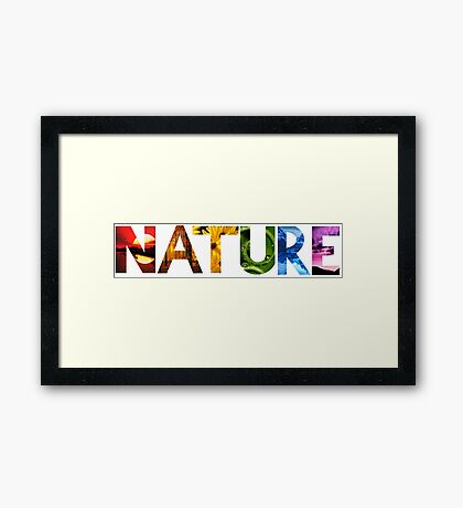 Nature Found within Nature Framed Print