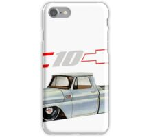 Chevy C10 with Logo iPhone Case/Skin