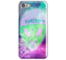 Humans Exist??? iPhone Case/Skin