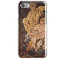 Egon Schiele - The Family 1918 iPhone Case/Skin