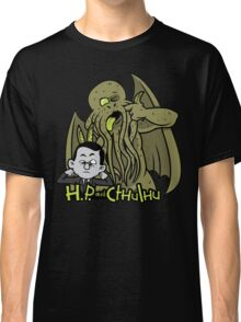 H.P. and Cthulhu Classic T-Shirt