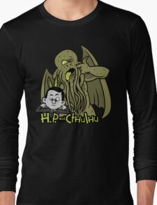 H.P. and Cthulhu Long Sleeve T-Shirt