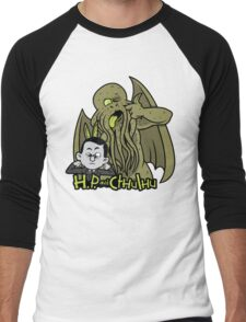H.P. and Cthulhu Men's Baseball ¾ T-Shirt