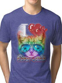 I <3 Cool Cats Tri-blend T-Shirt