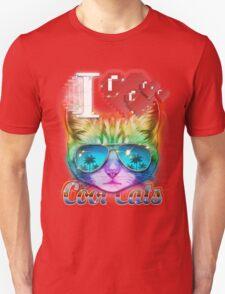 I <3 Cool Cats Unisex T-Shirt