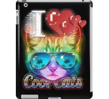 I <3 Cool Cats iPad Case/Skin