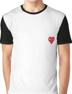 Comme Des Garcons Logo Shirts Graphic T-Shirt