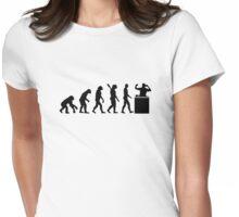 Evolution DJ Womens Fitted T-Shirt