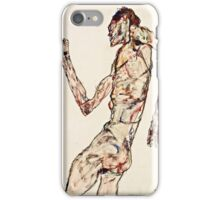 Egon Schiele - The Dancer (1913)  iPhone Case/Skin