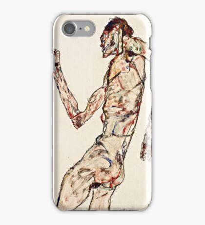 Egon Schiele - The Dancer (1913)  iPhone Case/Skin