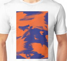 Brush Strokes (Complementary Colors) Unisex T-Shirt