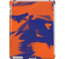 Brush Strokes (Complementary Colors) iPad Case/Skin