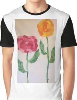 Aaron's World of Flowers Graphic T-Shirt