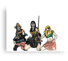The Xena Gang Canvas Print