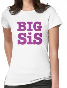 Big Sis 2/2 Womens Fitted T-Shirt