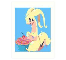 Goodra's Cupcake *SHINY* Art Print