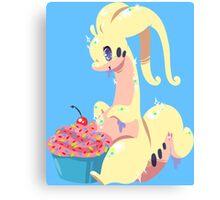 Goodra's Cupcake *SHINY* Canvas Print