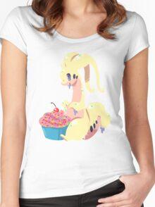 Goodra's Cupcake *SHINY* Women's Fitted Scoop T-Shirt