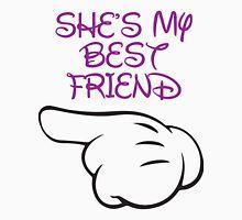 She's My Best Friend 1/2 Tank Top