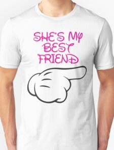 She's My Best Friend 2/2 Unisex T-Shirt