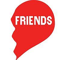 Best Friends Heart 2/2 Photographic Print