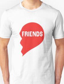 Best Friends Heart 2/2 Unisex T-Shirt