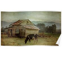 The Old Cow Shed Poster