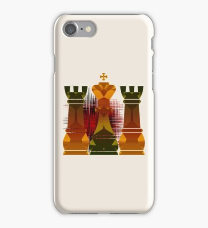 Chess Mate Number Nineteen iPhone Case/Skin
