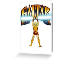 Galtar and the Golden Lance Greeting Card