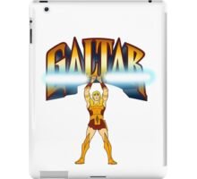 Galtar and the Golden Lance iPad Case/Skin