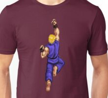 Blue Ken Shoryuken Unisex T-Shirt