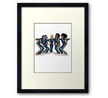 Harlem Globetrotters - Group Framed Print