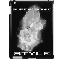 Super Sonic Style (Grayscale) iPad Case/Skin