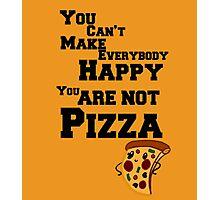 Pizza :D Photographic Print