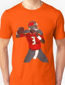 Jameis Winston Throwing Art Unisex T-Shirt